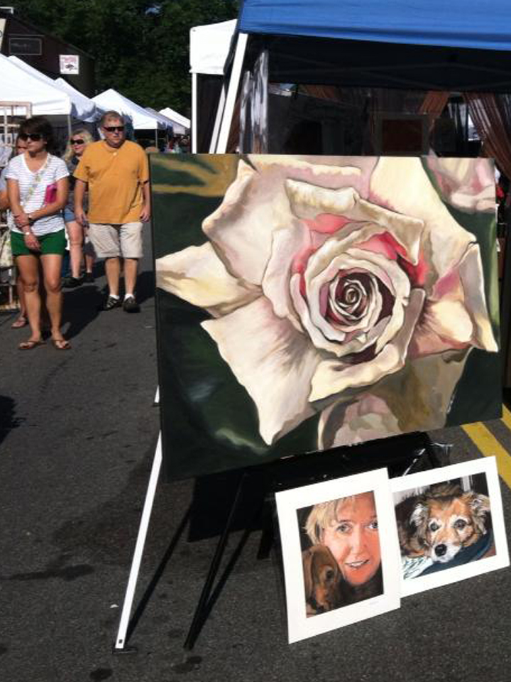 Marietta Square Artists Market Paintings