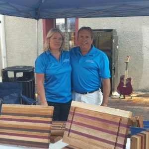 Fran and Tracy Maddox at The Artisan Market
